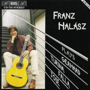 Franz Halász plays Spanish Guitar Music