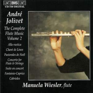André Jolivet - Complete Flute Music, Volume 2 Product Image