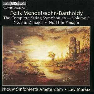Mendelssohn - Complete String Symphonies, Volume 3