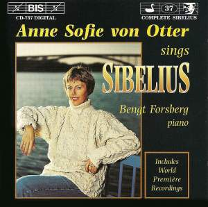 Anne Sofie von Otter sings Sibelius Product Image