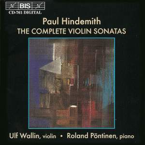 Paul Hindemith - The Complete Violin Sonatas