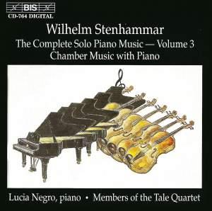 Stenhammar - Complete Solo Piano Music, Volume 3 Product Image