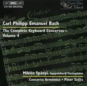 C P E Bach - Complete Keyboard Concertos, Volume 4