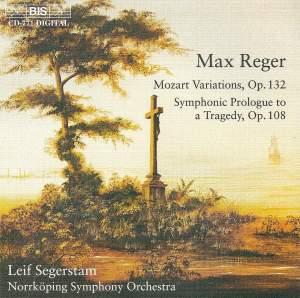 Reger: Variations & Fugue and Symphonic Prologue