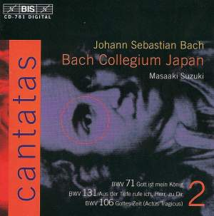 Bach - Cantatas Volume 2 Product Image