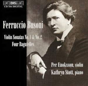 Busoni - Violin Sonatas Product Image