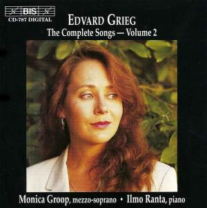 Grieg - The Complete Songs Volume 2 Product Image