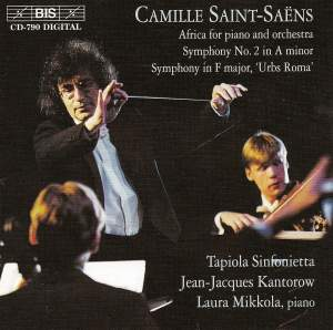 Saint-Saëns: Africa, Symphony No. 2 & Symphonie en fa Urbs Roma Product Image