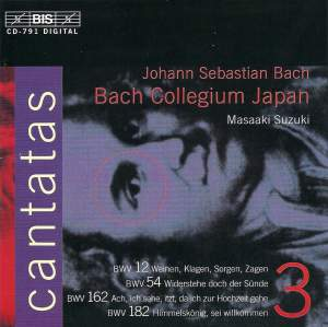 Bach - Cantatas Volume 3 Product Image