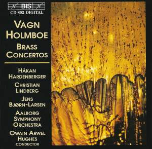 Vagn Holmboe - Brass Concertos Product Image