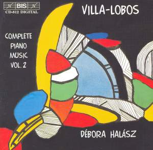 Villa-Lobos - Piano Music Volume 2 Product Image