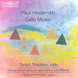 Paul Hindemith - Cello Music Product Image