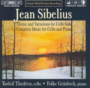 Sibelius - Music for Cello and Piano Product Image