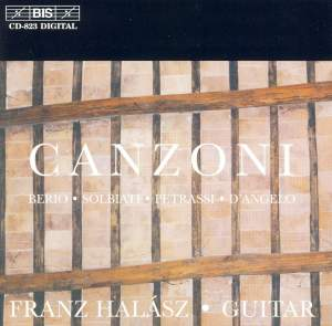 Canzoni Product Image