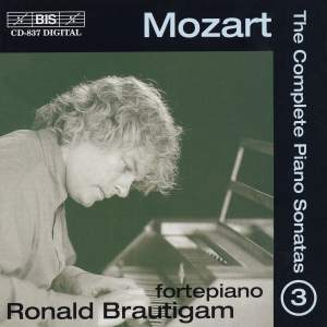 Mozart - Complete Piano Sonatas Volume 3 Product Image