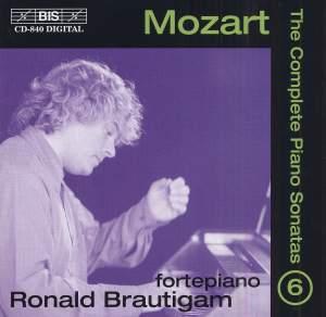 Mozart - Complete Piano Sonatas Volume 6 Product Image
