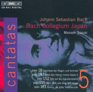 Bach - Cantatas Volume 5 Product Image