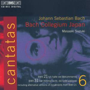 Bach - Cantatas Volume 6 Product Image