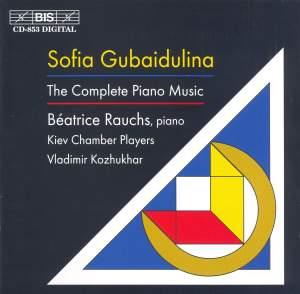 Sofia Gubaidulina - The Complete Piano Music Product Image
