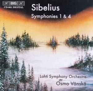 Sibelius - Symphonies Nos. 1 & 4