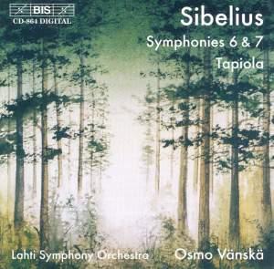 Sibelius - Symphonies Nos. 6 & 7