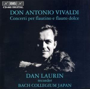Vivaldi - Concerti per flautino e flauto dolce Product Image