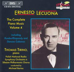 Ernesto Lecuona - Complete Piano Music, Volume 4 Product Image