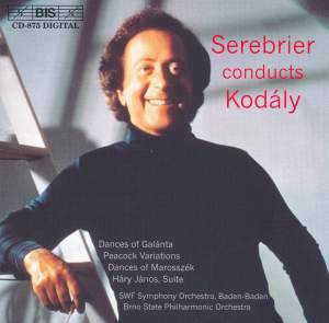 Serebrier conducts Kodály Product Image