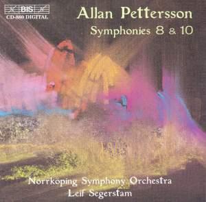 Pettersson - Symphonies Nos. 8 & 10 Product Image