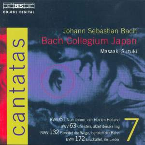 Bach - Cantatas Volume 7 Product Image