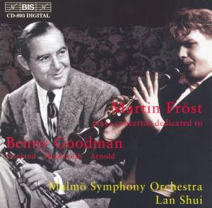 Clarinet Concertos dedicated to Benny Goodman Product Image