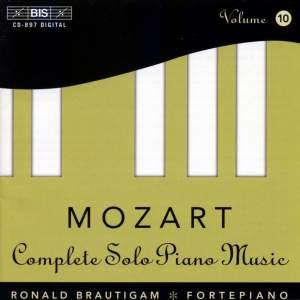 Mozart - Complete Solo Piano Music, Volume 10
