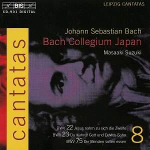 Bach - Cantatas Volume 8 Product Image