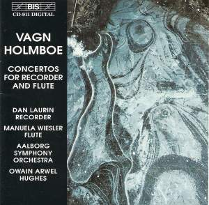 Vagn Holmboe - Concertos for Recorder and Flute Product Image