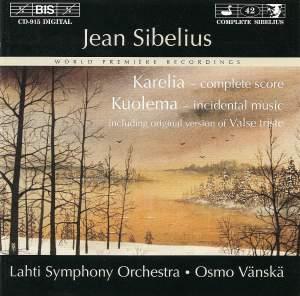 Sibelius: Karelia, Kuolema & Valse Triste Product Image