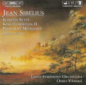 Sibelius: King Kristian II, incidental music, Op. 27, etc.