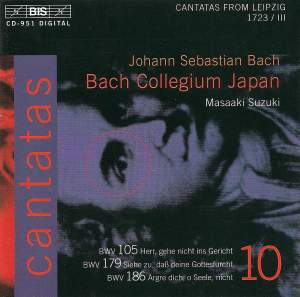 Bach - Cantatas Volume 10 Product Image