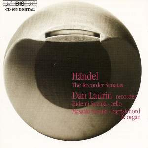 Handel - Recorder Sonatas Product Image