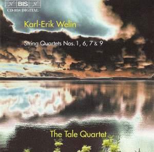 Welin: String Quartets Nos. 1, 6, 7 & 9