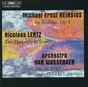 Heinsius & Lentz - Orchestral music Product Image
