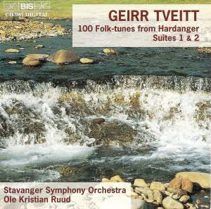 Tveitt: 100 Folk-tunes from Hardanger - Suites 1 & 2 Product Image
