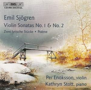 Sjögren - Violin Sonatas Product Image