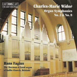 Widor: Organ Symphonies Product Image