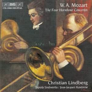 Mozart - The Four Hornbone Concertos Product Image
