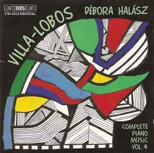 Villa-Lobos - Piano Music Volume 4