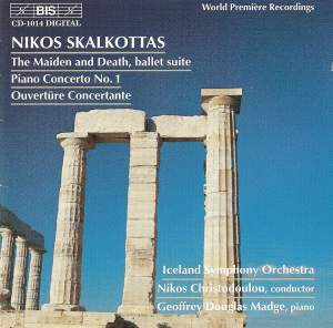 Skalkottas: The Maiden and Death - ballet suite, etc. Product Image