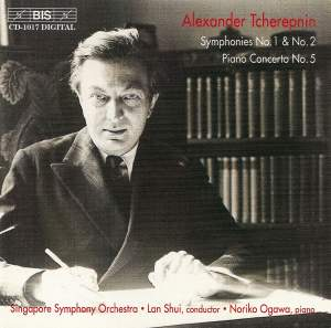 Tcherepnin: Symphonies Nos. 1 & 2 and Piano Concerto No. 5 Product Image