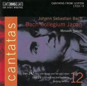 Bach - Cantatas Volume 12