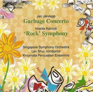 Järvlepp: Garbage Concerto & Kalnins: Rock Symphony