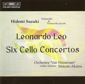 Leo: Cello Concertos Nos. 1-6